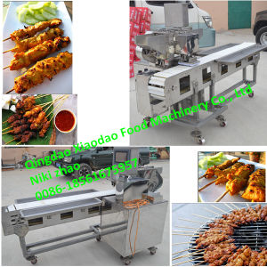 BBQ Meat Skewer Machine/Satay Skewer Machine pictures & photos