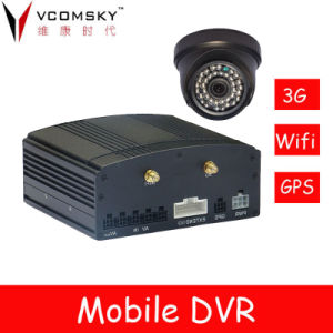 4CH HDD Mobile DVR /Car DVR Video Recorder/Car GPS Navigation pictures & photos