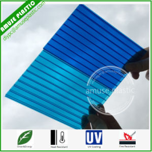 Blues OEM Plastic Panels Cutting Polycarbonate Sheets Solid Hollow Corrugated Boards pictures & photos