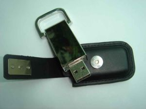 OEM Promotional Leather USB Flash Drive pictures & photos