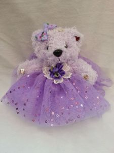 Children Toy Gifts Beautiful Purple Color Plush Teddy Bear Toy pictures & photos