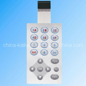 Push Button Tactile Custom Membrane Keypad with 3m Adhesive pictures & photos
