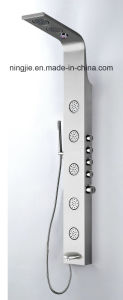 Stainless Steel Black Titanizing Massage Shower Panel (Nj-9884) pictures & photos