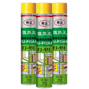 Construction PU Foam Sealant 500ml/750ml China Biggest Factory Direct Supply