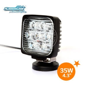 """New Popular 35W 4.2 """" Square LED Work Light Sm6351 pictures & photos"""