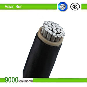 Aluminum Conductor XLPE Insulation XLPE Sheath Overhead Single Cable pictures & photos