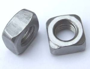 Square Nuts DIN557 with Zinc Plated Carbon Steel