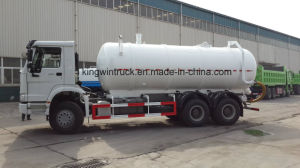 China Sinotruk Brand Suction Sewage Truck