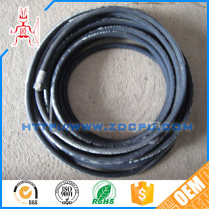 Factory Steel Wire Braided Rubber Hydraulic Hose pictures & photos