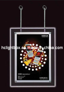 Hot Sell LED Double Side Acrylic Crystal Light Box pictures & photos