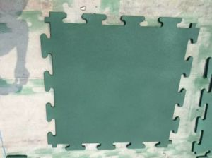 Rubber Flooring Rubber Tile Rubber Sheet Rubber Flooring of Gym pictures & photos