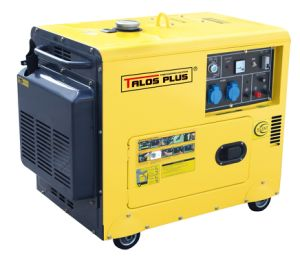 5 Kw / 5 kVA Silent Diesel Generator for Cold Area (TD6500LDE) pictures & photos