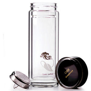 10oz 300ml Glass Straight Cup Customized Glass Cup Glass Water Bottle pictures & photos