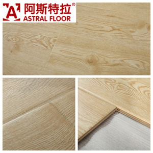 German Technical Mirror Surface (u-groove) Laminate Flooring (AS1034) pictures & photos
