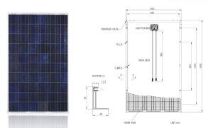 3W - 300W Solar System PV Panel Solar Panel with TUV IEC Mcs Inmetro Idcol Soncap (EU Antidumping Duty-Free) pictures & photos