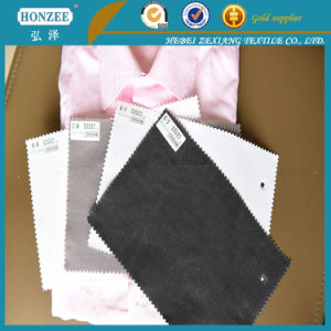 High Quality T/C Woven Interlining for Shirt Collar pictures & photos
