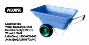 4mm Plastic Tray, 2 Wheels of Wheel Barrow (Wb3090)