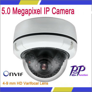 5.0 Megapixel IP Camera 4-9 Mm HD Varifocal Lens Dome Camera (VG-S5.0MP-DC-IR36)