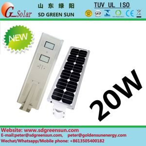 20W All in One Integerated Solar LED Lamp pictures & photos