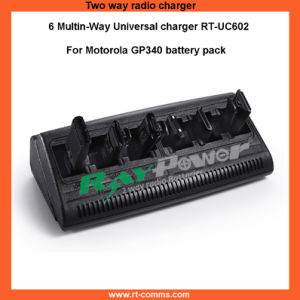 Gp340 Charger/6 Way Universal Charger for Motorola Gp340 Radios pictures & photos