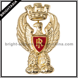 Custom Metal Badge for Military Badge/ Police Badge (BYH-10966) pictures & photos