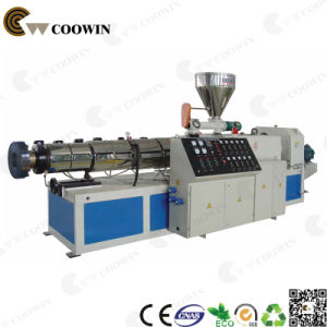 WPC Profile Extruder Production Line / Wood Plastic PVC Foam Double Screw Extruder pictures & photos