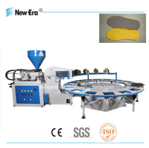 Full-Automatic Professional TPR PVC Injection Machine (SOLE AND SHOES)