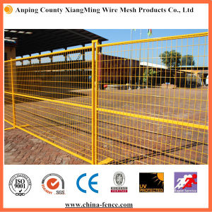 Low Carbon Steel PVC Coated Wire Mesh Fence pictures & photos