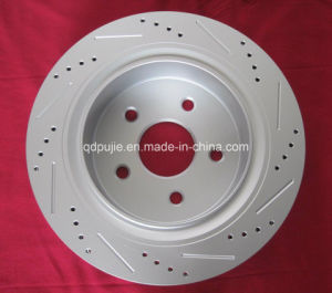 Hot Sale Crossed and Drilled Car Brake Discs pictures & photos