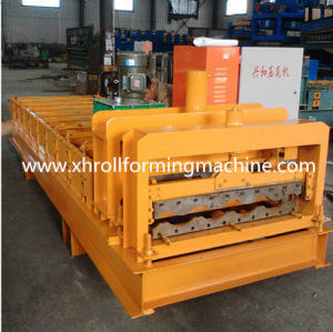 Color Steel Roof Panel Glaze Tile Roll Forming Machine pictures & photos