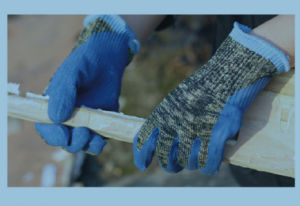 Aramid Fibers Cut Level 5 Cut Resistant Work Gloves