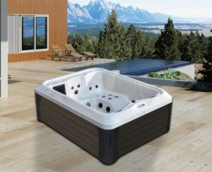 Double Sex Outdoor Jacuzzi New Style Massage Outdoor SPA M 3392