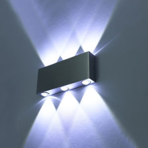 6W LED Bulb Wall Sconce up/Down LED Wall Lights