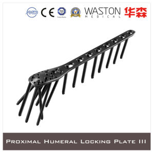 Titanium Proximal Humeral Locking Plate III with Available Combined or Multi-Angle Hole pictures & photos