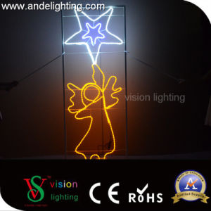 Christmas 2D Frame Motif Rope Light pictures & photos