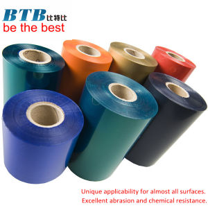 Wax Barcode Printing Ribbon Wax Resin Thermal Transfer Ribbon Resin Printed Ribbon