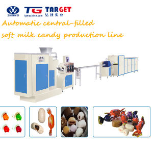 Center Filled Bubble Gum Making Machine Line with Ce Certification pictures & photos