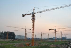 CE Certificate Building Equipmnetjib Tower Crane Qtz80 (TC5613)