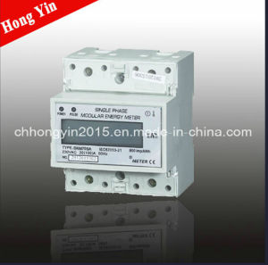 DRM75SA Single Phase Electronic DIN-Rail Active Energy Meter pictures & photos