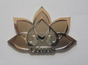 High Quality Metal Badges with Customized Logo pictures & photos