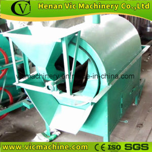 6GT-500 peanut, soybean roaster machine with 150-200kg/h pictures & photos