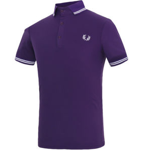 Private Logo Customized Pique Cotton Embroidered Casual Men′s Polo Shirt pictures & photos