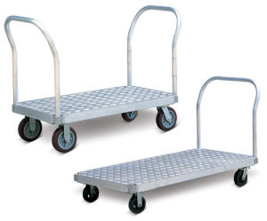 Aluminium Platform Hand Trolley pictures & photos