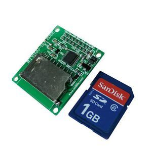 MP3 SD Card Sound Module with Two Line Serial Control Mode