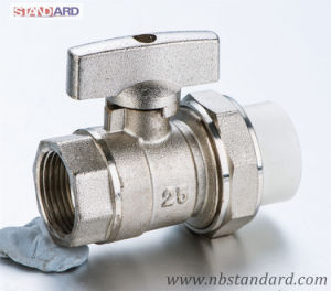 Brass Valve/Handle Valve/Female Valve/Ball Valve with PPR Pipe pictures & photos