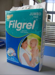 Fujian China Grade a Disposable Baby Diaper pictures & photos