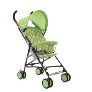 Cheap Price Three Colors Folding Baby Buggy pictures & photos