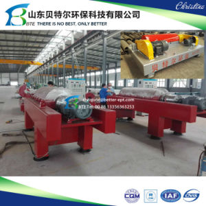 Horizontal Screw Decanter Centrifuge for Sludge Separation, Screw Decanter pictures & photos