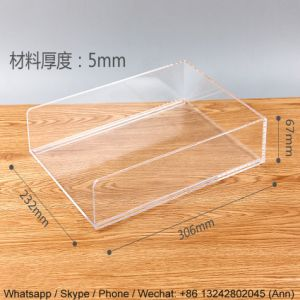 Clear Acrylic Document Holder pictures & photos