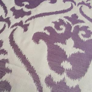 Damask Polyester Woven Upholstery Fabrics